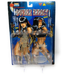 Double Impact (1998) Skybolt Toys, Crystal Edition Jazz Action Figure | Forward Generation
