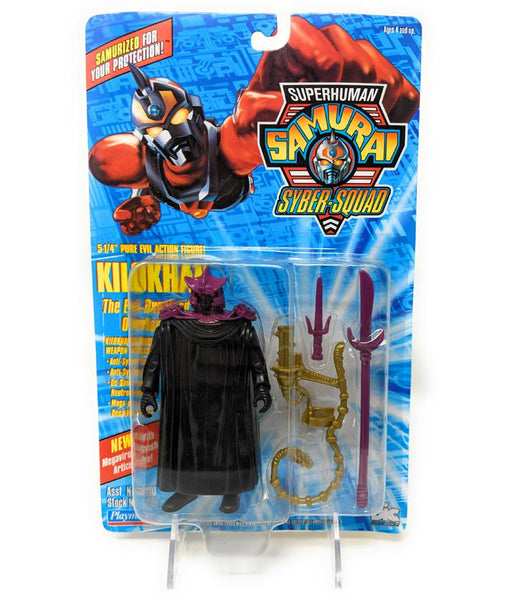 Superhuman Samurai (1994) Playmates Kilokhan Action Figure | Forward Generation