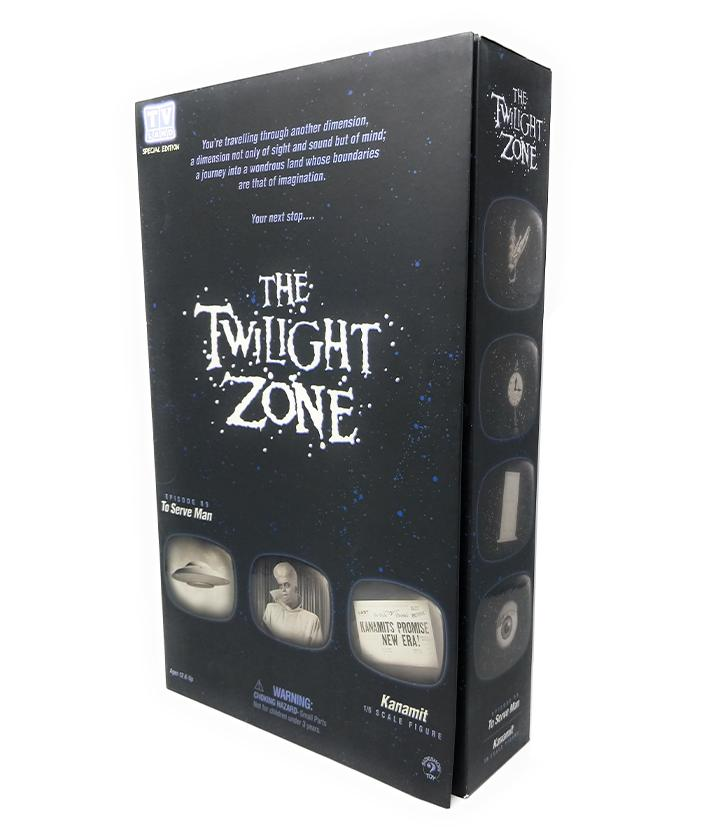 "The Twilight Zone (2002) Sideshow Collectibles, Kanamit 12"" Figure"
