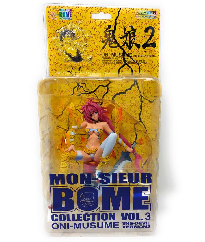 Mon-Sieur Bome Collection Vol 3 Oni-Musume She-Devil Version 2 Manga Figure | Forward Generation