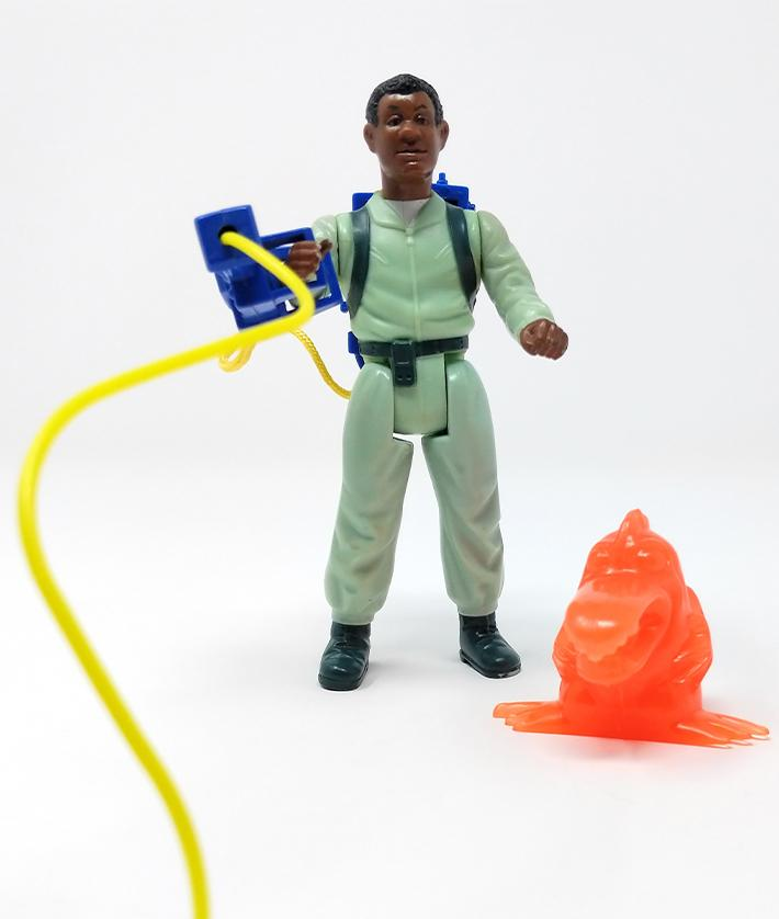 Real Ghostbusters (1986) Kenner, Winston Zeddemore Action Figure | Forward Generation