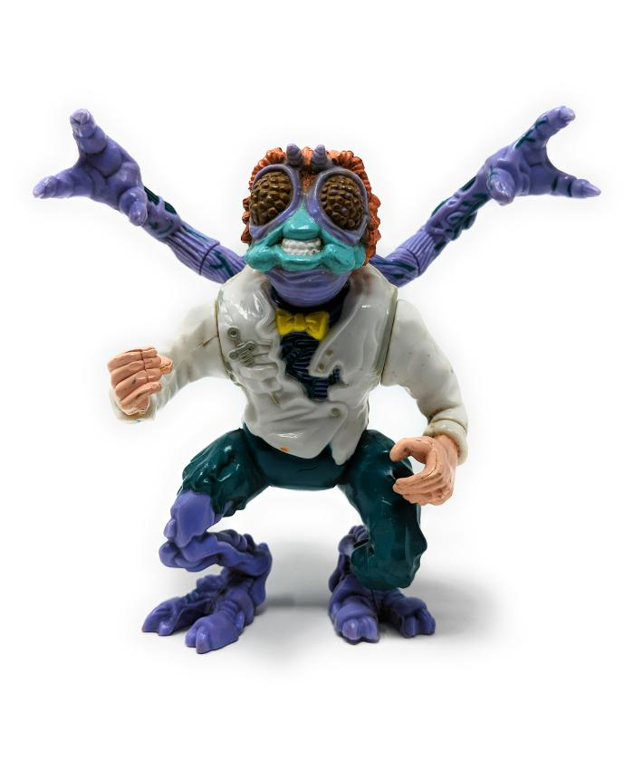 Teenage Mutant Ninja Turtles (1989) Baxter Stockman Action Figure | Forward Generation