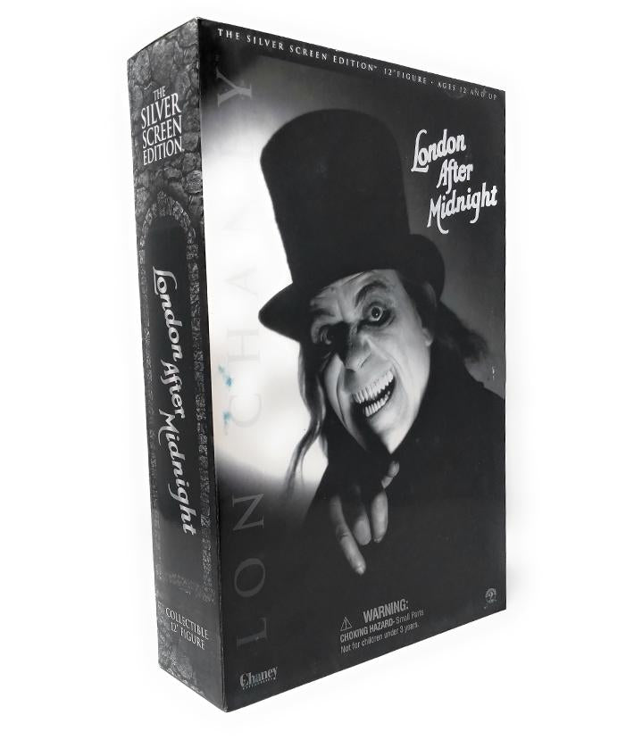"Lon Chaney (2002) Sideshow Collectibles, London After Midnight Silver Screen Edition 12"" Figure"