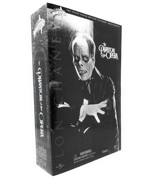 "Lon Chaney (2002) Sideshow Collectibles, Phantom of the Opera Silver Screen Edition 12"" Figure"