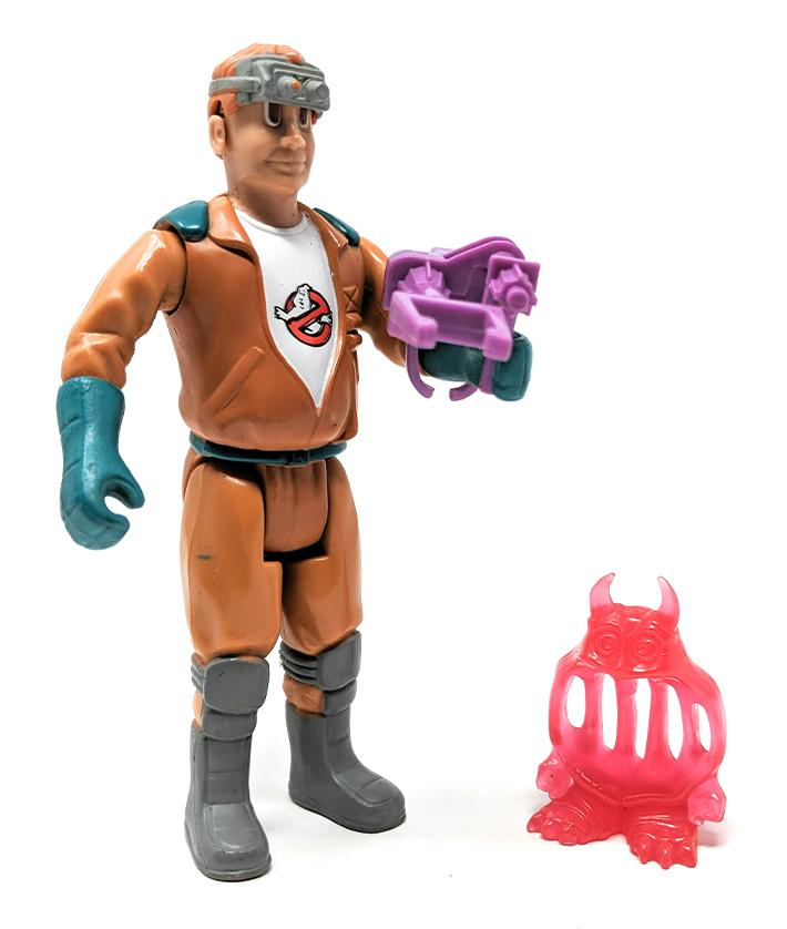 Real Ghostbusters (1988) Fright Features Ray Stantz Action Figure | Forward Generation
