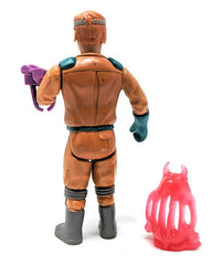 Real Ghostbusters (1988 / Wave 3) Kenner, Fright Features Ray Stantz Action Figure - Complete