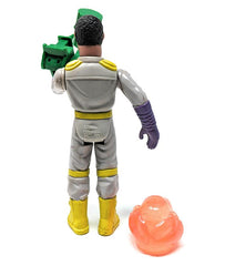 Real Ghostbusters (1988 / Wave 3) Kenner, Fright Features Winston Zeddemore Action Figure - Complete