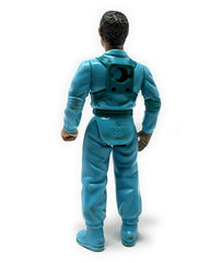 Real Ghostbusters (1990 / Wave 9) Kenner, Slimed Heroes Winston Zeddemore Action Figure - Complete