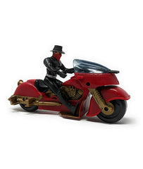 The Shadow (1994) Kenner, Lightning Draw Action Figure / Nightmist Motorcycle Bundle
