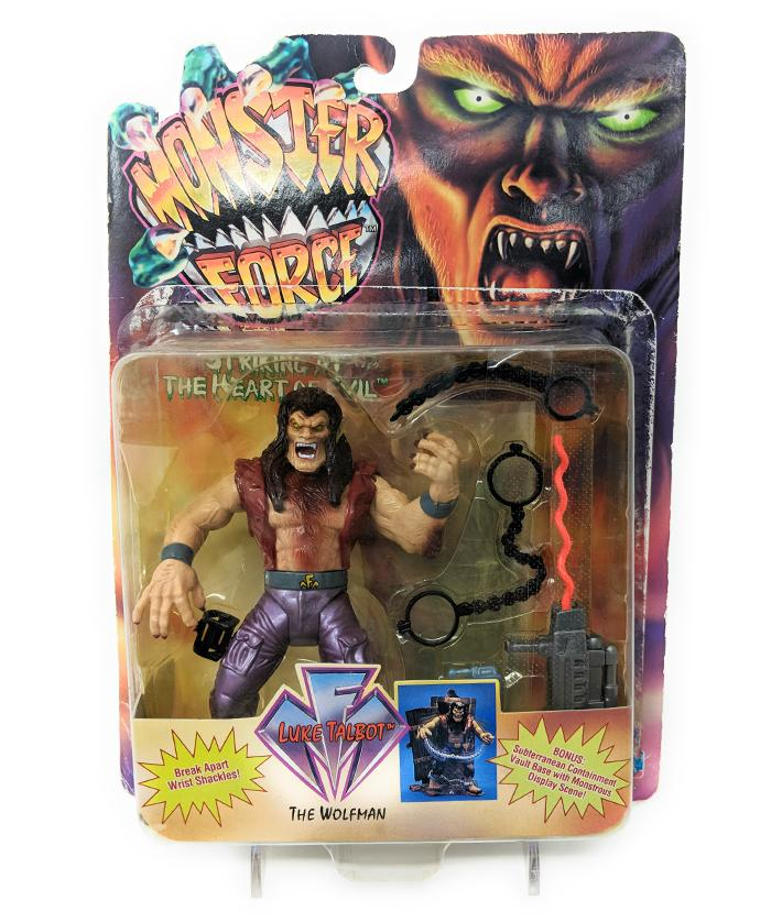 Monster Force (1994) Playmates Luke Talbot The Wolfman | Forward Generation