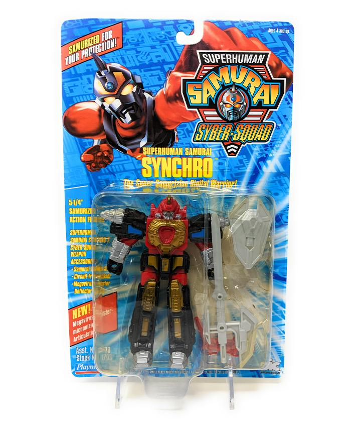 Superhuman Samurai (1994) Playmates Synchro Action Figure | Forward Generation