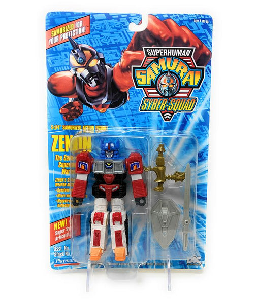 Superhuman Samurai (1994) Playmates Zenon Action Figure | Forward Generation