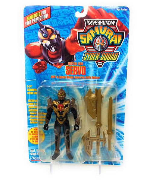 Superhuman Samurai (1994) Playmates Electro Grid Servo Action Figure | Forward Generation