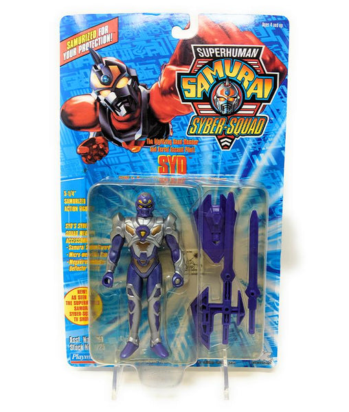 Superhuman Samurai (1994) Playmates Syd Action Figure | Forward Generation
