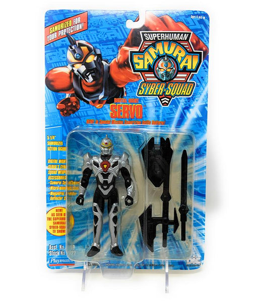 Superhuman Samurai (1994) Playmates Digital Night Servo Action Figure | Forward Generation