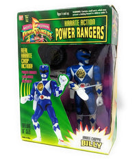 Power Rangers (1994) Bandai, Karate Choppin Action Billy the Blue Ranger - NIB | Forward Generation