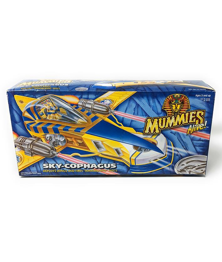 Mummies Alive (1997) Kenner, Sky-Cophagus Vehicle - MISB | Forward Generation