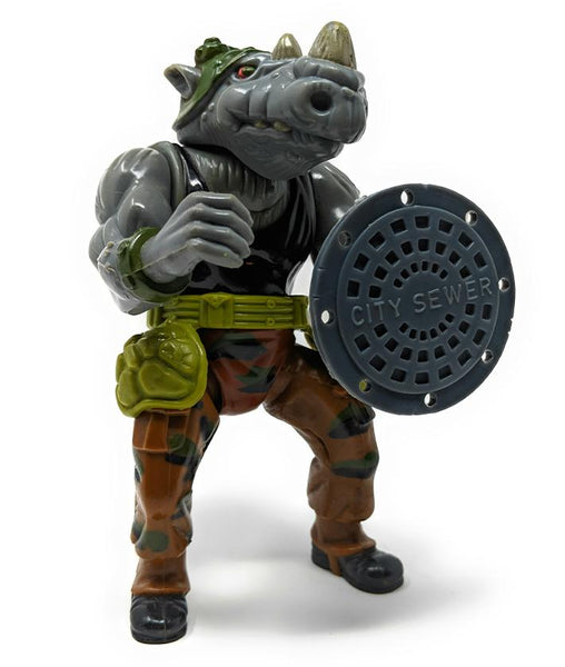 Teenage Mutant Ninja Turtles (1988) Rocksteady Action Figure | Forward Generation