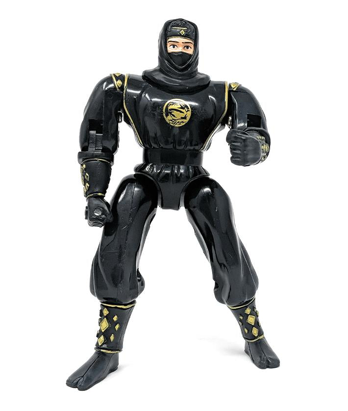 Power Rangers (2000) Power Playback Black Ninja Adam Action Figure