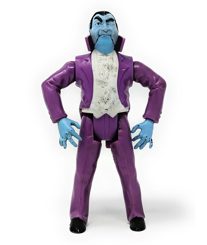 Real Ghosterbusters (1989) Dracula Monsters Action Figure