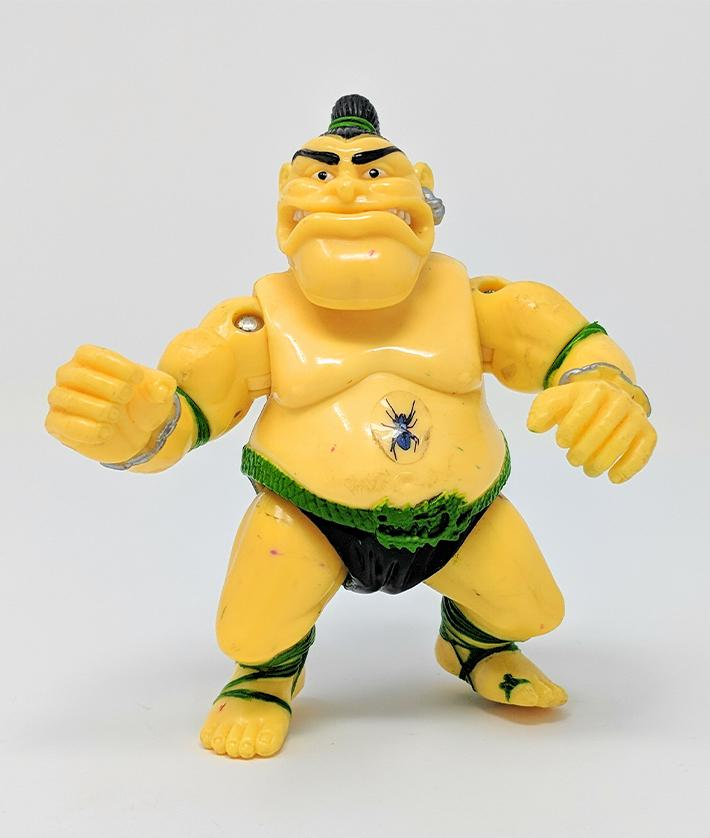 Ninja Turtles (1991) Playmates, Tattoo Action Figure