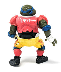 Ninja Turtles (1991) Playmates, TD Tossin' Leo Action Figure - Figure Only