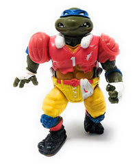 Ninja Turtles (1991) Playmates, TD Tossin' Leo Action Figure