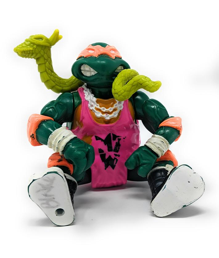 Ninja Turtles (1991) Shell Slammin' Mike Action Figure