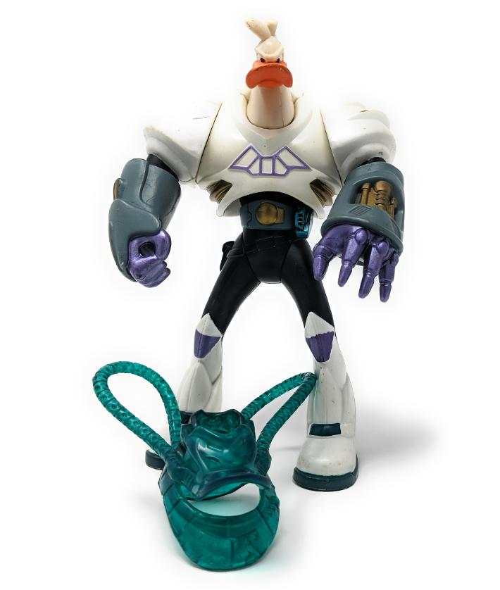 Mighty Ducks (1993) Net Attack Wildwing Extreme Battle Ducks Action Figure