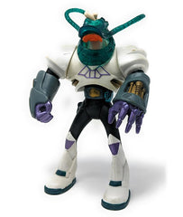 Mighty Ducks (1993) Mattel, Net Attack Wildwing Extreme Battle Ducks Action Figure - Near Complete