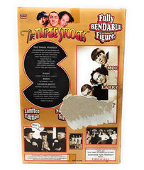 The Three Stooges (1997) Fun 4 All, Limited Edition Bendable Larry Action Figure #854 of 25000 - MISB
