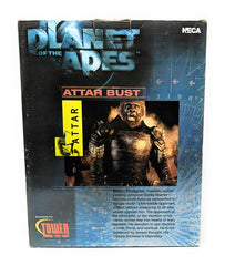 Planet of the Apes (2001) NECA, Attar Bust Statue - MIB