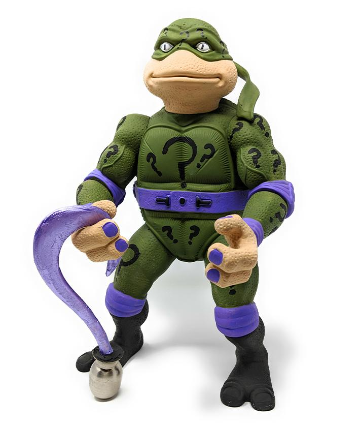 TMNT Custom Giant Ninja Turtle Riddler Figure | Forward Generation