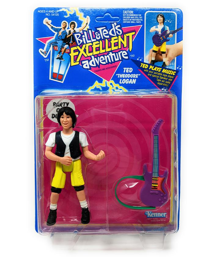 Bill & Ted's Excellent Adventure Ted Logan Action Figure | Forward Generation