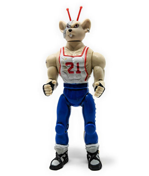 Biker Mice from Mars Sports Bros Slam Dunk Vinnie Action Figure | Forward Generation