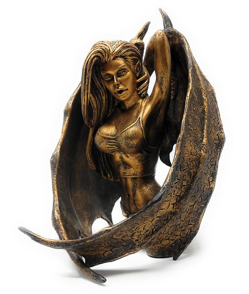 Darkchylde (2001) Bronze Edition 5th Anniversary Limited Edition Resin Bust | Forward Generation