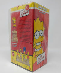 The Simpsons (2003) Sideshow Collectibles, Lisa Simpson Polystone Bust Limited Edition Mini Statue