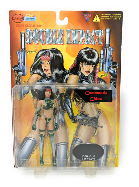 Double Impact Commando Jazz Action Figure by Ricky Carralero and Skybolt Toyz, 1998 | Limited Edition of 5000