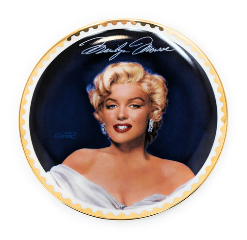 "Marilyn Monroe ""Sweet Sizzle"" 1996 Collectible Plate by the Bradford Exchange #4715A"