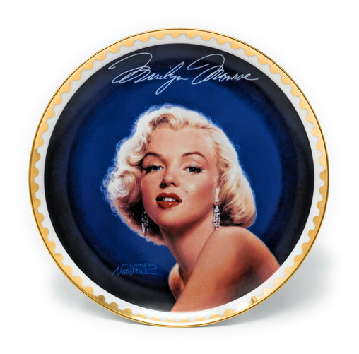 "Marilyn Monroe ""Forever Radiant"" 1997 Collectible Plate by the Bradford Exchange - #3227 A"