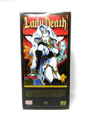1995 Lady Death Diamond Edition Statue by Clayburn Moore and Chaos! Comics | #233 of 300
