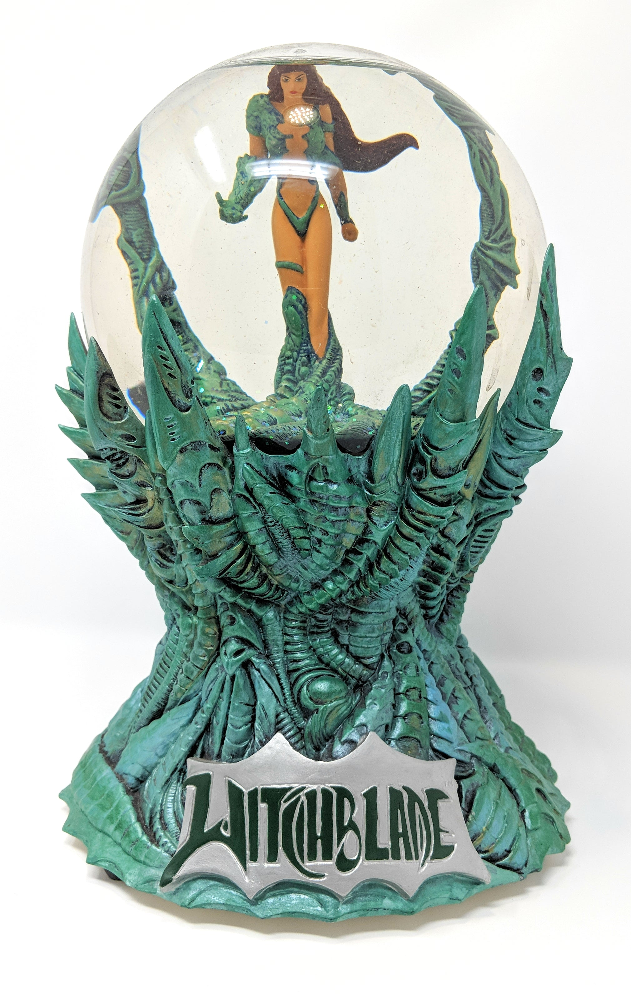 The Witchblade Snowglobe by Moore Creations, Inc. (1999) | Limited Edition #485 of 3000