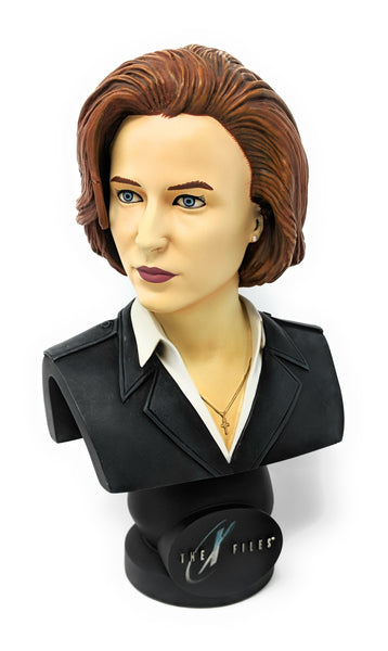 "The X-Files Dana Scully Prototype Statue Fight the Future Bust by Greg Aronowitz | ""XXX"" of 5000"