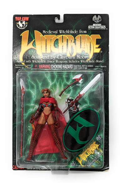 Medieval Scarlet Witchblade Action Figure by Top Cow