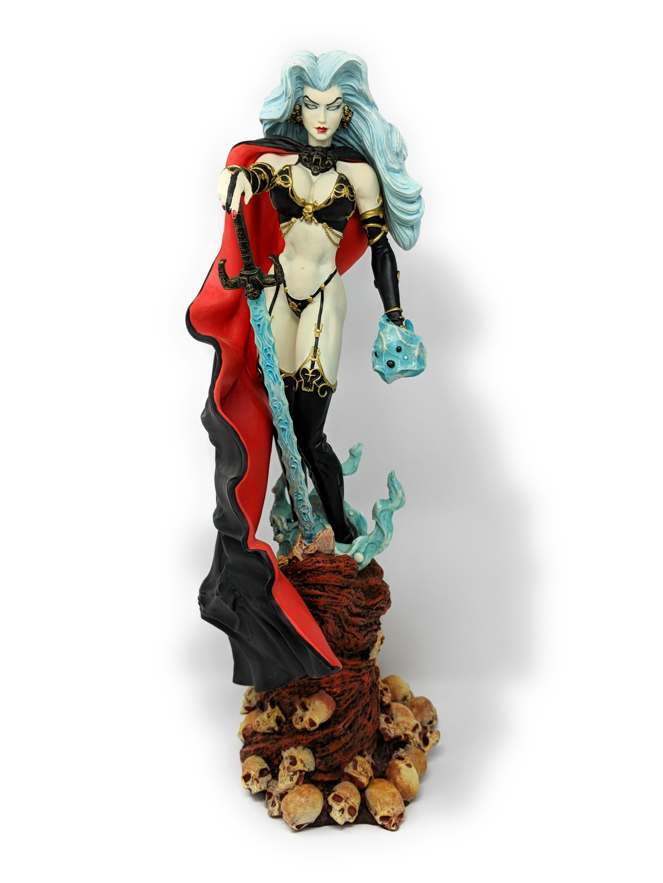 2000 Lady Death Dark Millennium Statue by Brian Pulido - #48 of 350