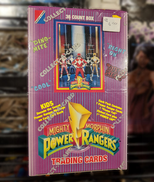 MMPR 1994 Series 1 Trading Cards - Factory Sealed Box, 36 ct. Box