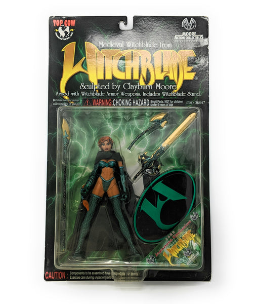 Emerald Medieval Witchblade Japanese Exclusive Action Figure 1998