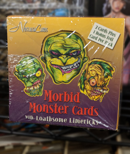 Morbid Monster Trading Cards Series 1, 1999 by Nostalgia Cards