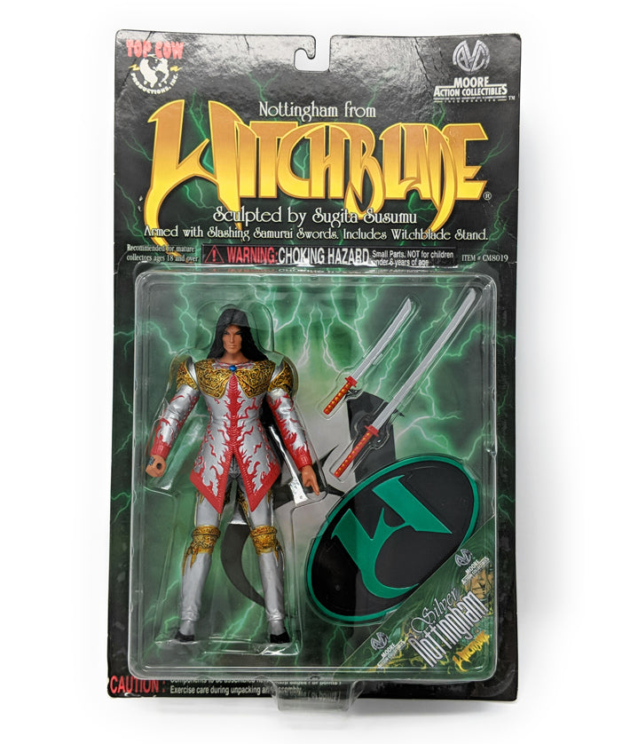 "Silver Nottingham 1998 Witchblade 8"" Action Figure"