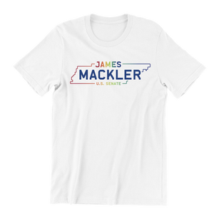James Mackler for Senate Pride Tee